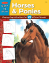 Learn to Draw Horses & Ponies: Step-by-Step Instructions for 25 Different Breeds