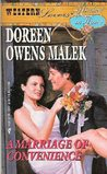 A Marriage of Convenience  (Western Lovers: Hitched in Haste, #7)