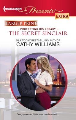 The Secret Sinclair by Cathy Williams