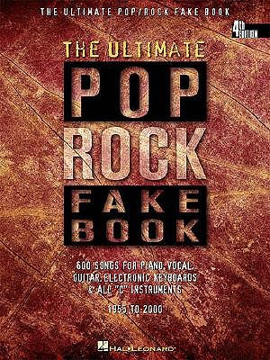 The Ultimate Pop/Rock Fake Book: C Edition