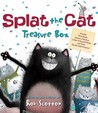 Splat the Cat Treasure Box: Splat the Cat Sings Flat, Splat the Cat and the Duck with No Quack, Splat the Cat: Back to School, Splat!, and Color-It-Yourself Poster