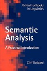 Semantic Analysis...