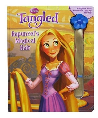 Rapunzel's Magical Hair: Storybook with Light Up Removable Hair (Disney Tangled)