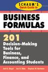 Schaum's Quick Guide to Business Finance: 201 Decision-Making Tools for Business, Finance, and Accounting Students