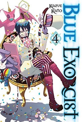 Blue Exorcist, Vol. 4 by Kazue Kato