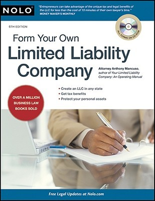 Form Your Own Limited Liability Company [With CDROM]