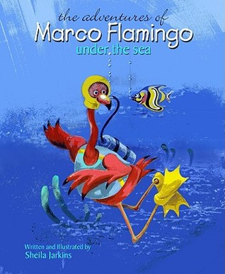 Marco Flamingo Under the Sea by Sheila Jarkins