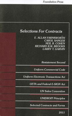 Selections for Contracts: Uniform Commercial Code, Restatement Second, 2011
