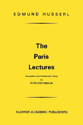 The Paris Lectures by Edmund Husserl