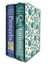 Little Oxford Gift Box: Little Oxford Dictionary of Quotations/Little Oxford Dictionary of Proverbs