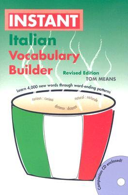 Instant Italian Voabulary Builder [With CD]
