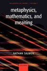 Metaphysics, Mathematics, and Meaning: Philosophical Papers