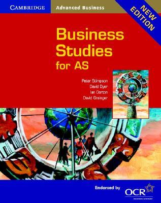 Cambridge Business Studies for AS