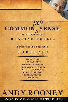 Common Nonsense by Andy Rooney