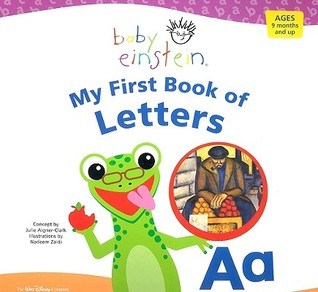 My First Book of Letters by Julie Aigner-Clark