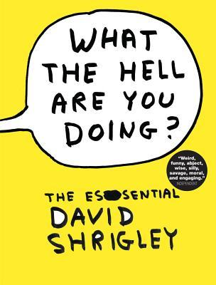 What the Hell Are You Doing? by David Shrigley