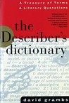 The Describer's Dictionary by David Grambs