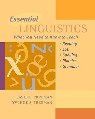 Essential Linguistics by David E. Freeman