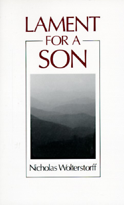 Lament for a Son by Nicholas Wolterstorff