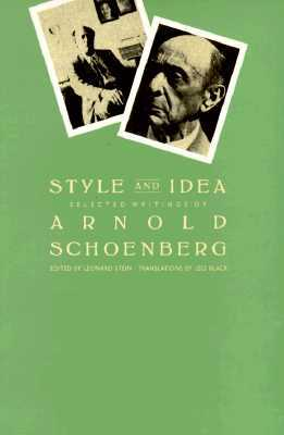 Style and Idea: Selected Writings