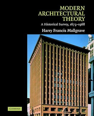 Modern Architectural Theory: A Historical Survey, 1673 1968