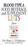 Blood Type A: Food, Beverage and Supplement Lists from Eat Right for Your Type