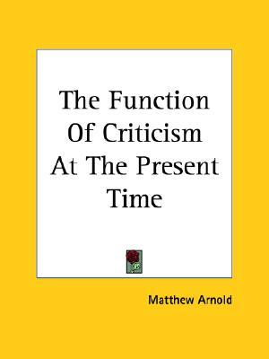 essays in criticism first series Get this from a library essays in criticism : first series [matthew arnold.