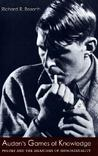 Auden's Games of Knowledge by Richard R. Bozorth