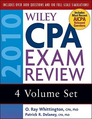 Wiley CPA Exam Review 2010, 4-volume Set