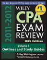 Wiley CPA Examination Review 38th Edition 2010-2011, Outlines and Study Guides, Vol. 1