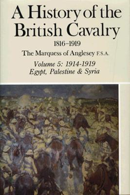A History of the British Cavalry, 1816 to 1919, Volume 5: 1914-1919, Egypt, Palestine & Syria