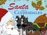 Santa and the Clydesdales