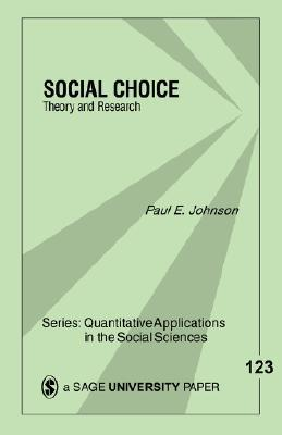 Social Choice: : Theory & Research
