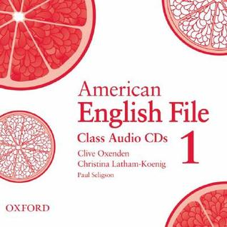 American English File 1 Class CDs by Clive Oxenden