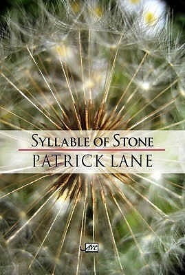 Syllable Of Stone (Arc International Poets)