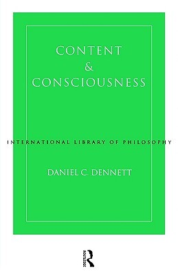 Content and Consciousness (International Library of Philosophy & Scientific Method)
