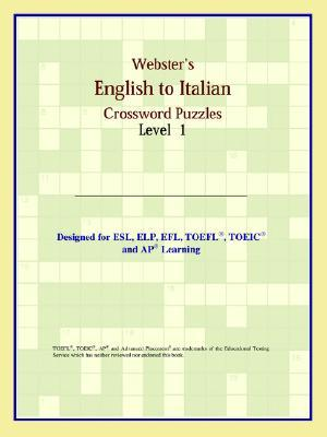 Webster's English to Italian Crossword Puzzles: Level 1