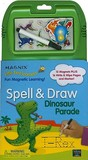 Spell & Draw Dinosaur Parade [With 12 Magnets and Marker]