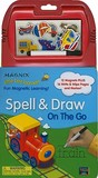 Spell & Draw on the Go [With 12 Magnets and Marker]
