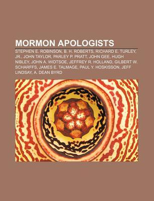 Mormon Apologists by Books LLC