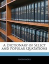 A Dictionary of S...