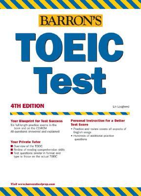 Barron's TOEIC Test (Barron's How to Prepare for the Toeic Test Test of English for International Communication (Book Only))