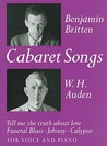 Cabaret Songs for Voice and Piano