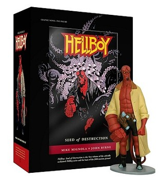 Hellboy Book and Figure Boxed Set by Mike Mignola