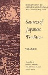 Sources of Japanese Tradition, Vol 2