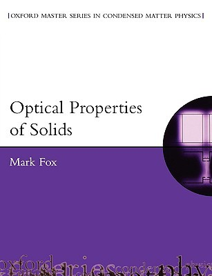 Optical Properties of Solids by Mark Fox