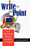Write to the Point by Salvatore J. Iacone
