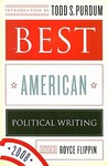 Best American Political Writing 2008