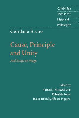Cause, Principle and Unity by Giordano Bruno