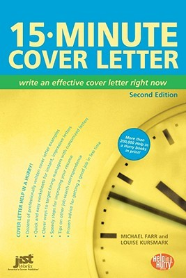 15-Minute Cover Letter by Louise M. Kursmark